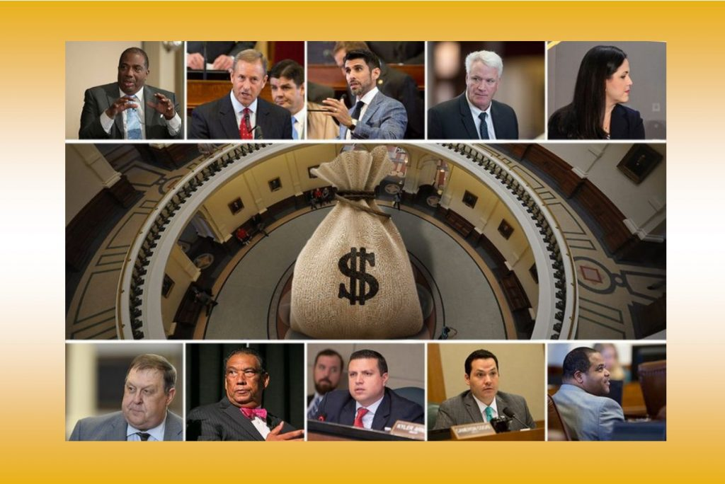 Are Texas lawmakers' business ties with public entities a conflict of interest?