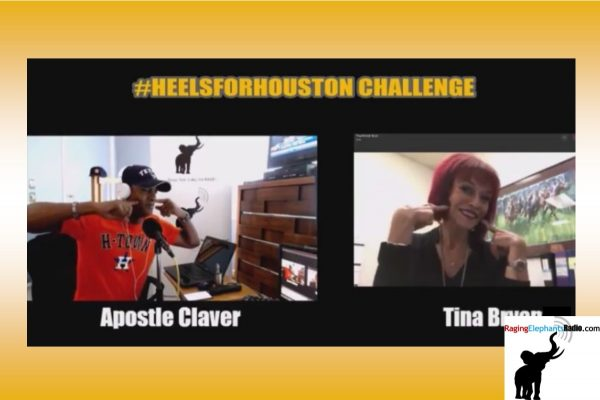 RERaction — RER LAUNCHES #HEELSFORHOUSTON CHALLENGE (VIDEO)