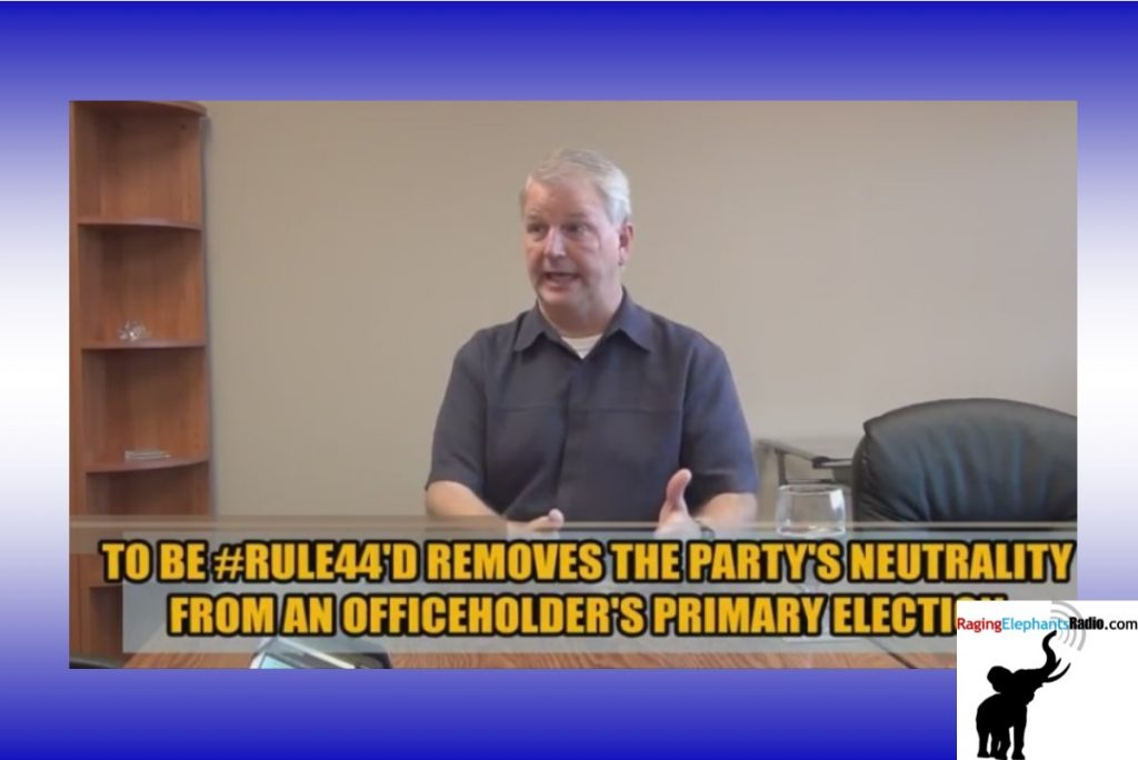 RERvideo -- #RULE44 EXPLAINED BY TEXAS GOP CHAIR JAMES DICKEY (VIDEO)