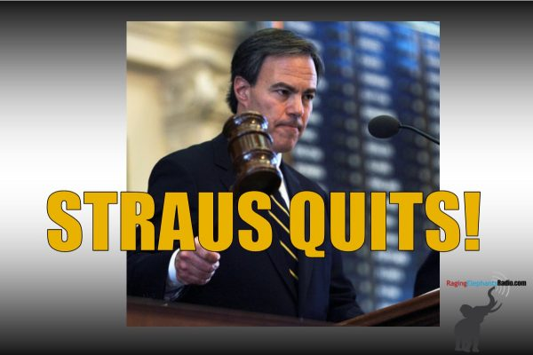 "RER BREAKING NEWS – ""KING JOE"" STRAUS QUITS!"