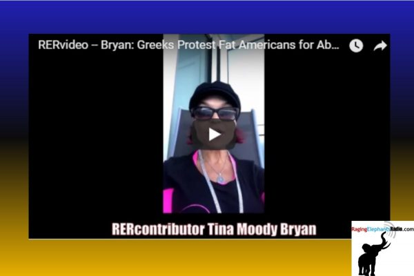 """RERvideo – BRYAN: GREEKS PROTEST """"FAT AMERICANS"""" THAT ABUSE DONKEYS THEY RIDE (VIDEO)"""