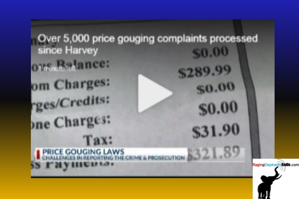 Over 5,000 price gouging complaints processed since Harvey