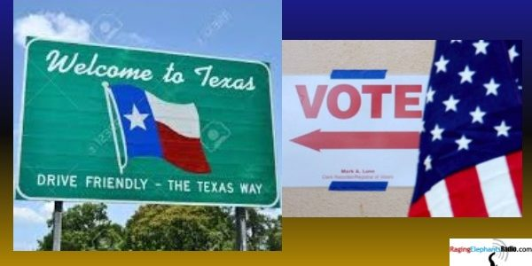 RERvideo -- TEXAS ELECTORATE HAS GROWN FASTER THAN THE POPULATION (VIDEO)