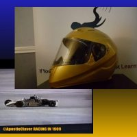 """RERsports — APOSTLE CLAVER UNVEILS HIS NEW RACING HELMET FOR HIS """"CALL IT A COMEBACK"""" QUEST (VIDEO)"""