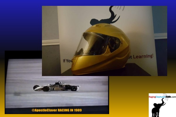 "RERsports — APOSTLE CLAVER UNVEILS HIS NEW RACING HELMET FOR HIS ""CALL IT A COMEBACK"" QUEST (VIDEO)"